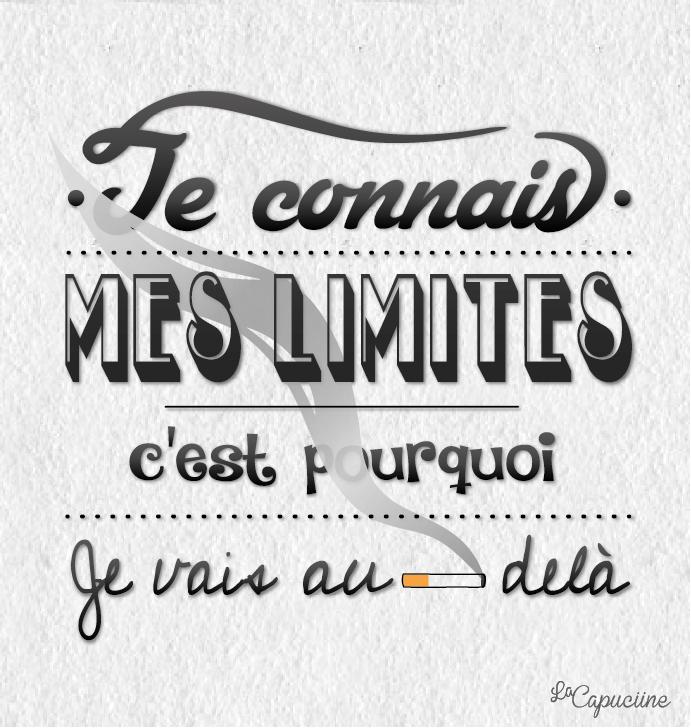 je connais mes limites