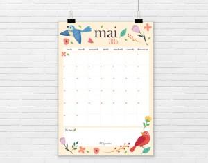 calendrier mai2016-lacapuciine